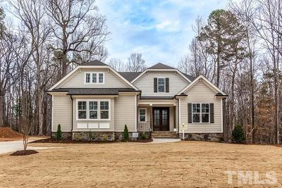 Wake Forest Single Family Home For Sale: 8616 Kimillie Court