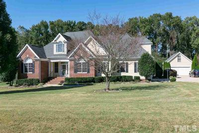 Wake Forest Single Family Home For Sale: 165 Barnhill Lane