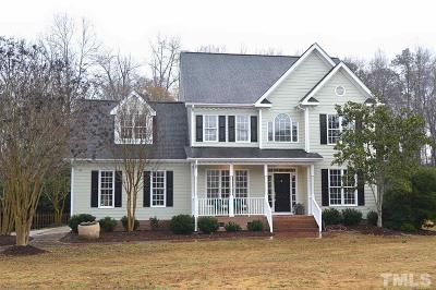 Fuquay Varina Single Family Home For Sale: 7105 Oak Village Way