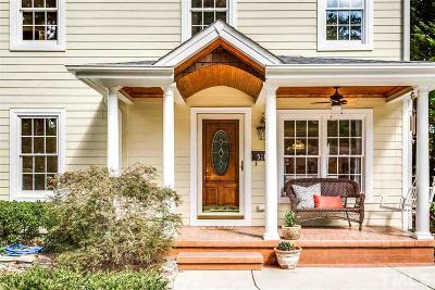 Cary Single Family Home Contingent: 518 Mayfair Street