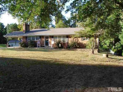 Sanford Single Family Home For Sale: 500 Glenwood Drive