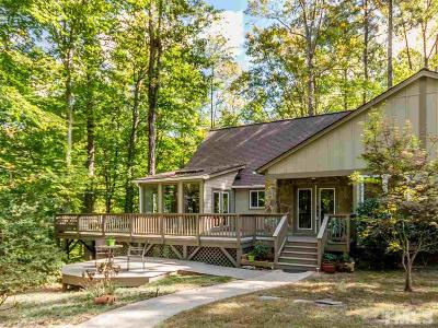 Cary Single Family Home Contingent: 109 Barcliff Terrace