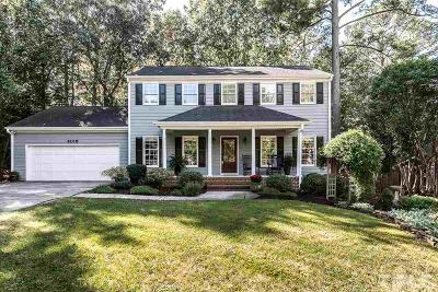 Durham Single Family Home Contingent: 4019 Crown Hill Drive