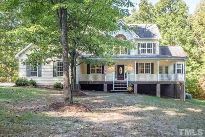 Chapel Hill Single Family Home Pending: 15 Old Wilder Lane