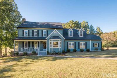 Wake Forest Single Family Home For Sale: 1601 Farm Hill Court