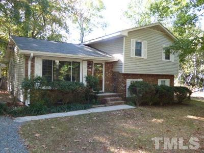 Carrboro Single Family Home Contingent: 105 Cathy Road