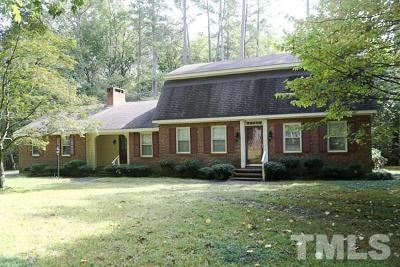 Garner Single Family Home For Sale: 1800 Buffaloe Road