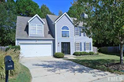 Braxton Village Single Family Home For Sale: 108 Polyanthus Place