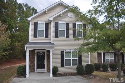 Durham Single Family Home For Sale: 411 St John Drive