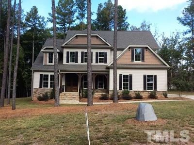 Wake Forest Single Family Home For Sale: 1203 Rogers Farm Road
