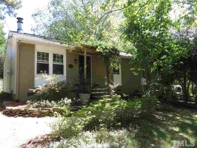 Wake Forest Single Family Home Pending: 837 Pineview Drive