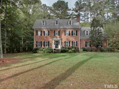 Raleigh Single Family Home For Sale: 2004 Countrywood North Road