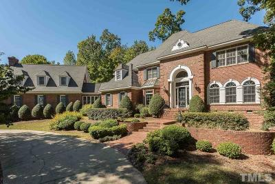 Chapel Hill Single Family Home For Sale: 11404 Governors Drive