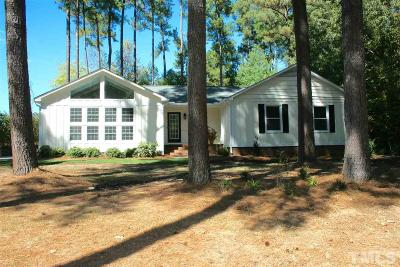 Durham Single Family Home For Sale: 2416 Mont Haven Drive