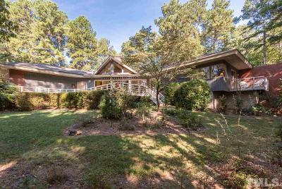 Pittsboro Single Family Home For Sale: 29 Crosswinds Estates Drive