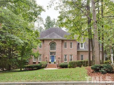 Raleigh Single Family Home For Sale: 1908 Prescott Place
