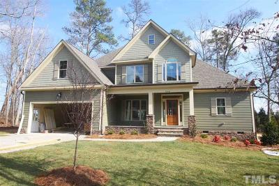 Fuquay Varina Single Family Home For Sale: 416 N Harrison Place Lane #Lot 2