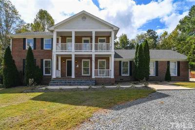 Wake Forest Single Family Home For Sale: 4712 Upchurch Lane