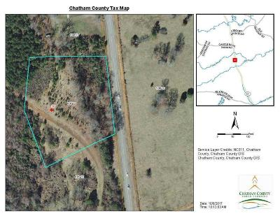 Chatham County Residential Lots & Land For Sale: 30 T C Justice Road