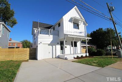 Raleigh Single Family Home For Sale: 113 S Tarboro Street