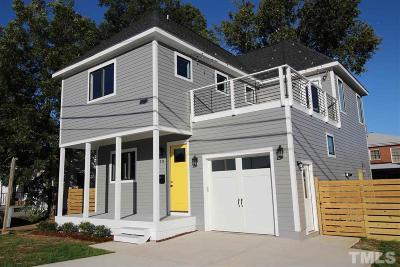Raleigh Single Family Home For Sale: 111 S Tarboro Street