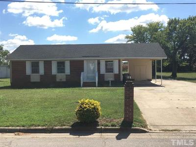 Dunn NC Single Family Home For Sale: $95,000