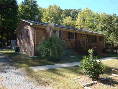 Pittsboro Single Family Home For Sale: 1955 Mt Gilead Church Road