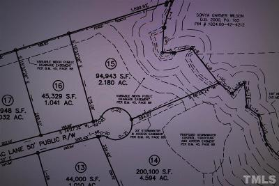 Wake Forest Residential Lots & Land For Sale: 3459 Lilac Lane