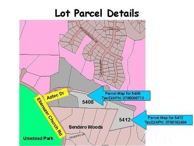 Wake County Residential Lots & Land For Sale: 5408 Aztec Drive