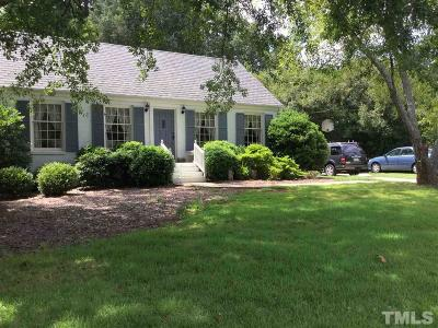 Wake County Single Family Home For Sale: 2127 Ridge Road