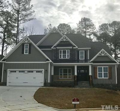 Apex Single Family Home For Sale: 2900 Kenna Creek Bend
