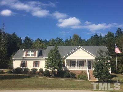 Fuquay Varina Single Family Home For Sale: 65 Sidwell Court