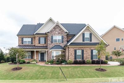 Cary Single Family Home For Sale: 609 Nottely Place