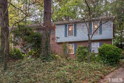 Raleigh Single Family Home Contingent: 3328 Boulder Court