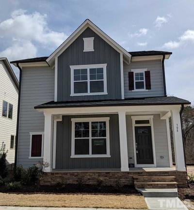 Chapel Hill Single Family Home For Sale: 308 Crossland Drive