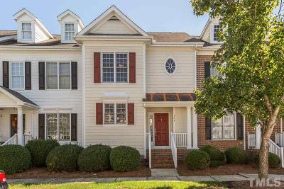 Cary NC Townhouse For Sale: $225,000