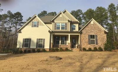 Youngsville Single Family Home Contingent: 111 Blue Heron Drive