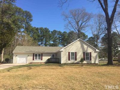 Wake Forest Single Family Home For Sale: 1612 Forest Road