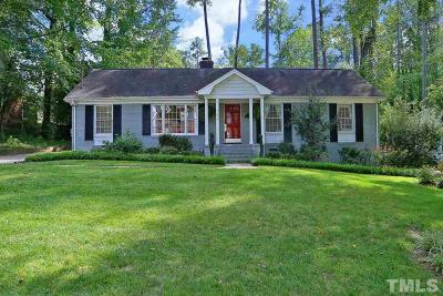 Raleigh Single Family Home For Sale: 709 Davidson Street