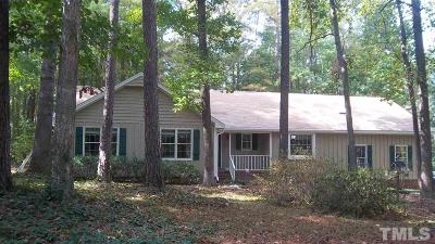 Raleigh Single Family Home For Sale: 8701 Brandon Station Road