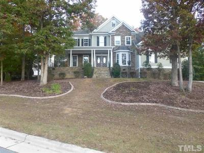 Wake Forest Single Family Home Pending: 3600 Thorndike Drive