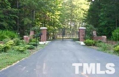 Orange County Residential Lots & Land For Sale: 1707 Halls Mill Road