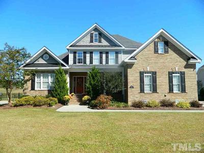 Zebulon Single Family Home For Sale: 1011 Black River Drive