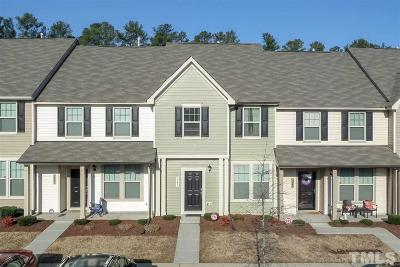 Raleigh Townhouse For Sale: 3243 Warm Springs Lane