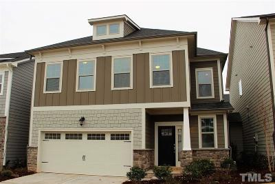 Holly Springs Townhouse For Sale: 112 White Hill Drive