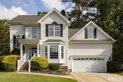 Holly Springs Single Family Home Contingent: 516 Hidden Cellars Drive