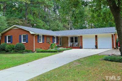 Raleigh Single Family Home For Sale: 1314 Old Trinity Circle