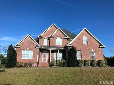Angier Single Family Home For Sale: 36 Tudor Place