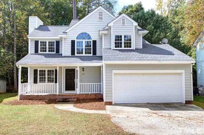 Cary Single Family Home Contingent: 104 Gatepost Lane