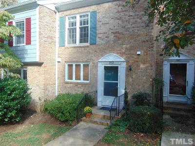 Cary Townhouse For Sale: 103 Barbary Court